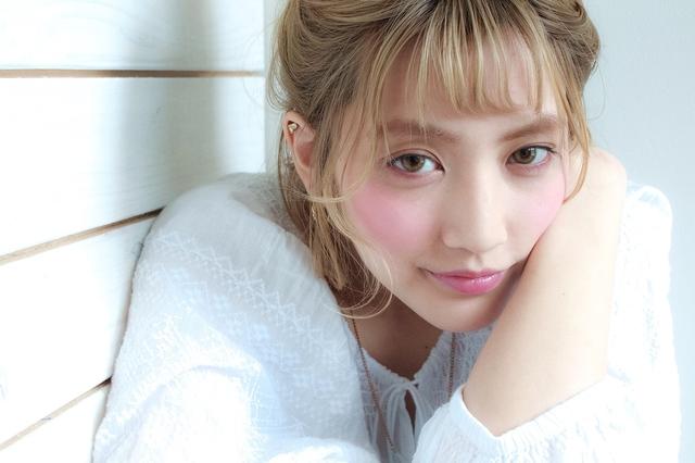 【AVEDA】外国人風ハイトーンダブルカラー+カット+毛穴洗浄 池袋¥17500