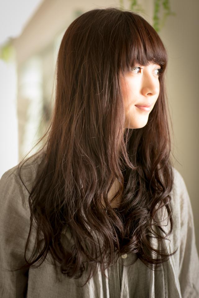 ツヤサラサラモードで大人かわいい前髪のラブクラシカルヘア114:メイン画像