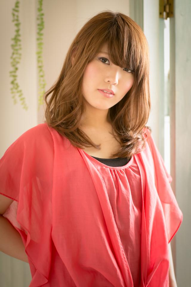 ツヤサラサラモードで大人かわいい前髪のラブクラシカルヘア112:メイン画像