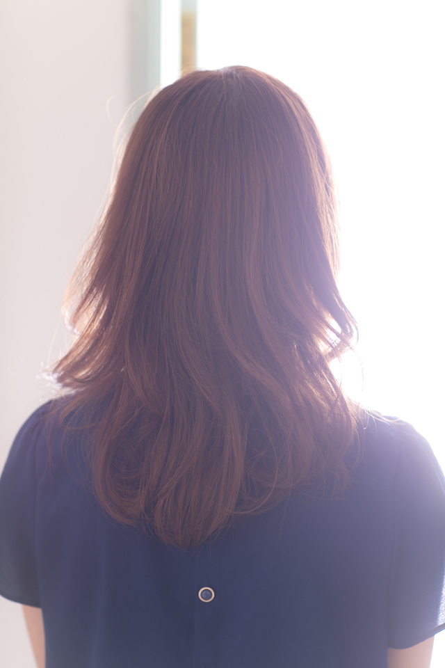 ツヤサラサラモードで大人かわいい前髪のラブクラシカルヘア129:メイン画像