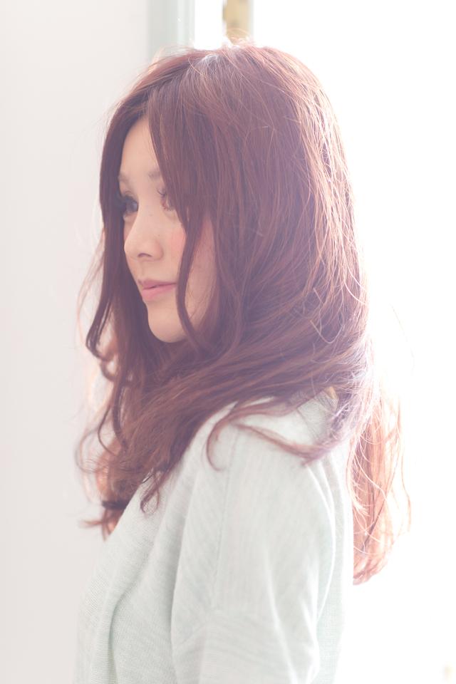 ツヤサラサラモードで大人かわいい前髪のラブクラシカルヘア128:メイン画像