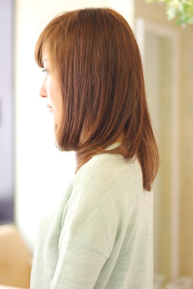 ツヤサラサラモードで大人かわいい前髪のラブクラシカルヘア125:メイン画像