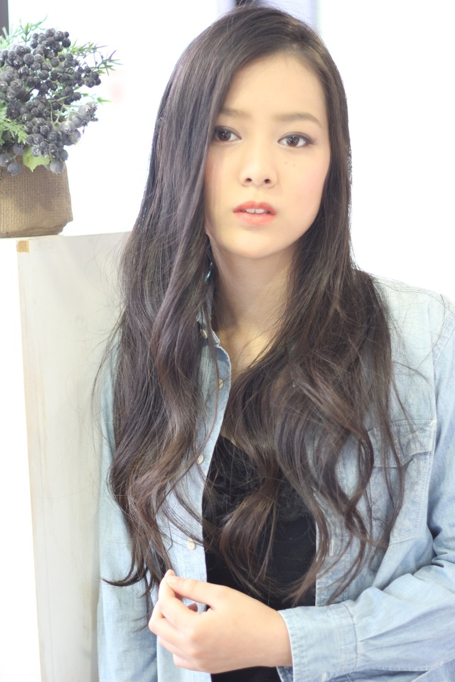 ツヤサラサラモードで大人かわいい前髪のラブクラシカルヘア126:メイン画像