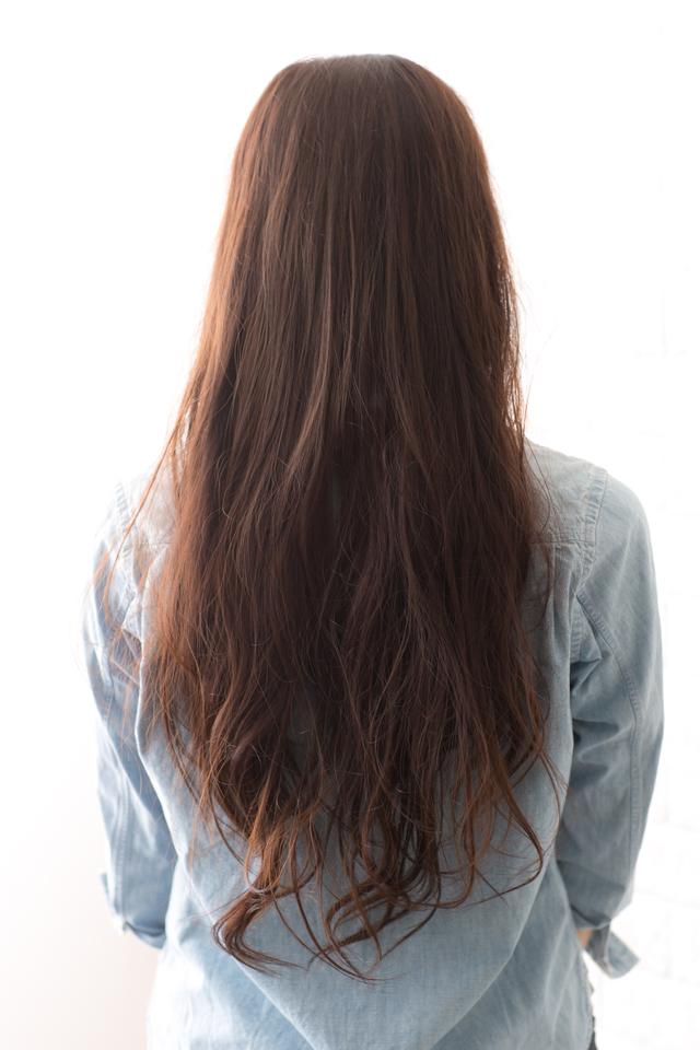 ツヤサラサラモードで大人かわいい前髪のラブクラシカルヘア130:メイン画像