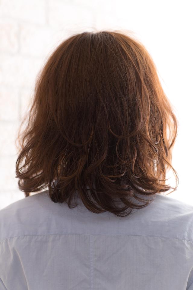 ツヤサラサラモードで大人かわいい前髪のラブクラシカルヘア132:メイン画像