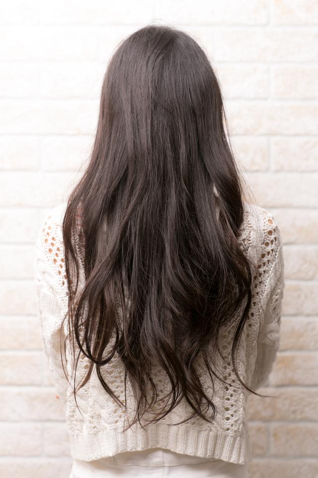 ツヤサラサラモード大人かわいい前髪のラブクラシカルヘア134:メイン画像
