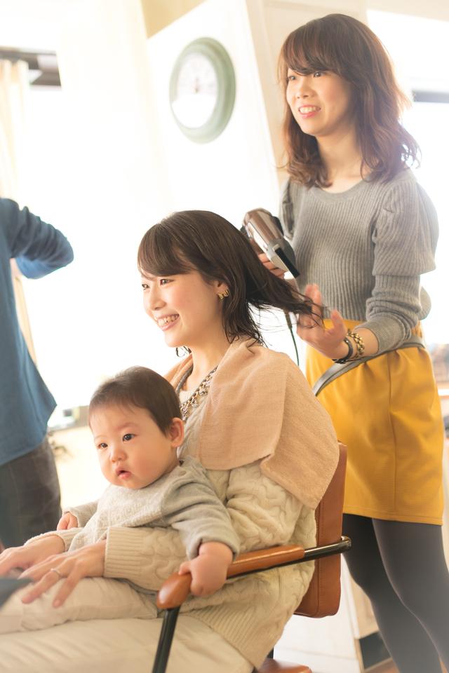ツヤサラサラモード大人かわいい前髪のラブクラシカルヘア136:メイン画像