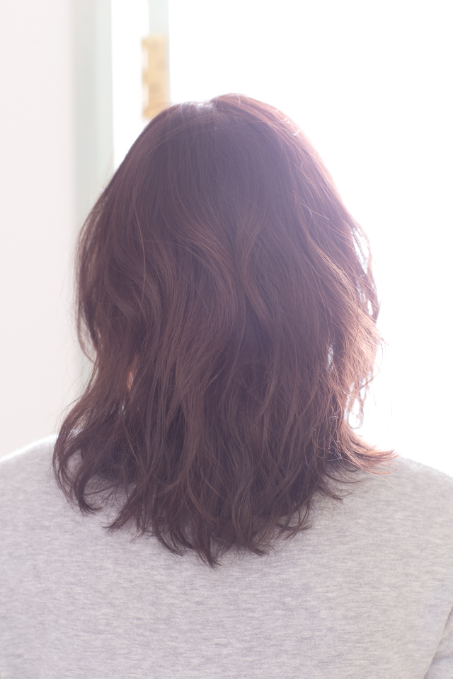 ツヤサラサラモードで大人かわいい前髪のラブクラシカルヘア138:メイン画像