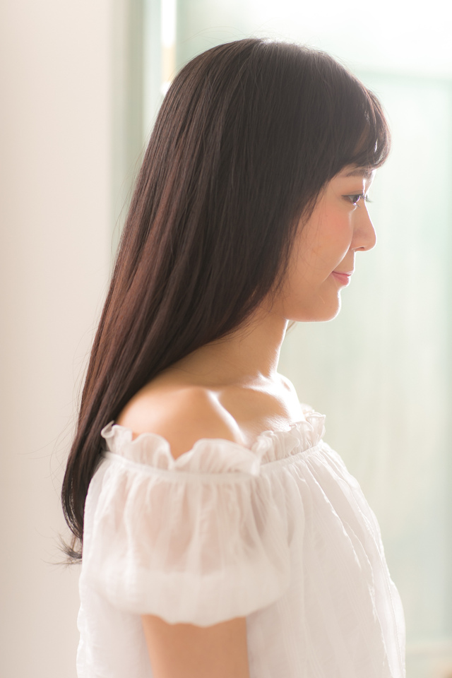 ツヤサラサラモードで大人かわいい前髪のラブクラシカルヘア155:メイン画像