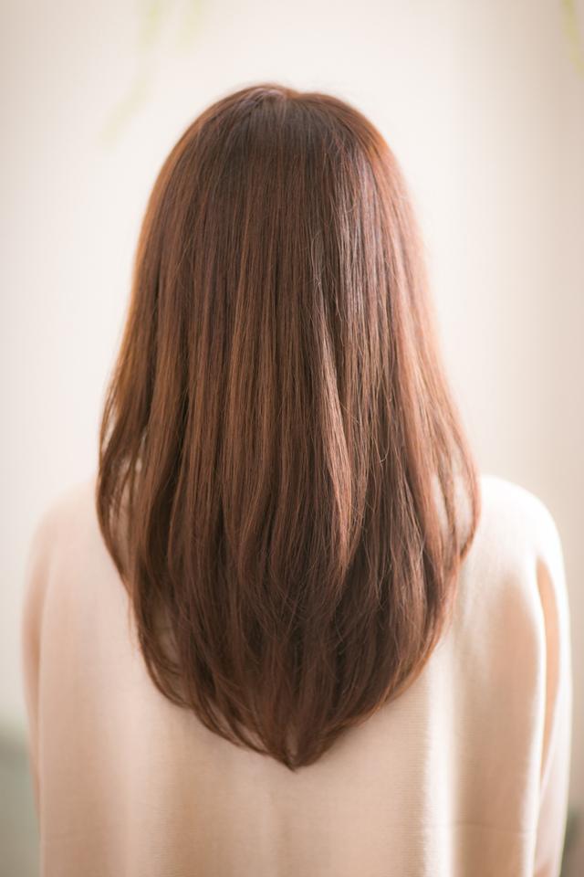ツヤサラモードで大人かわいい前髪のラブクラシカルヘア162池袋 :メイン画像