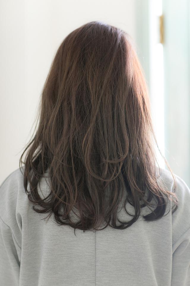 ツヤサラモード大人かわいい前髪のラブクラシカルヘア池袋:メイン画像