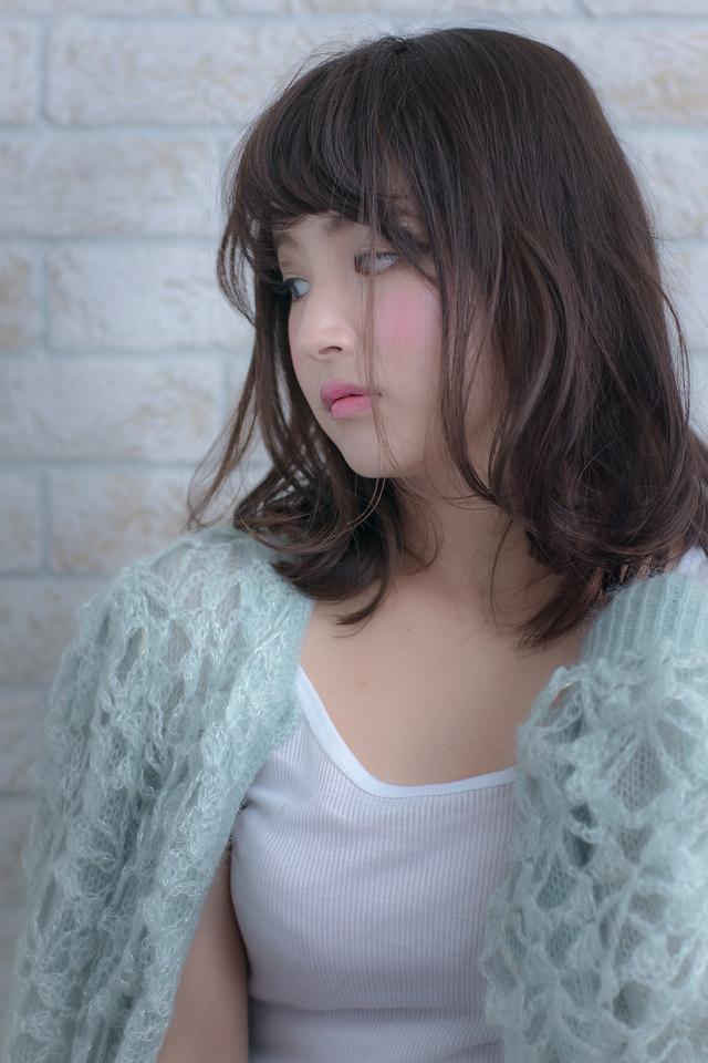 ツヤサラサラモードで大人かわいい前髪のラブヘア 200 池袋:メイン画像