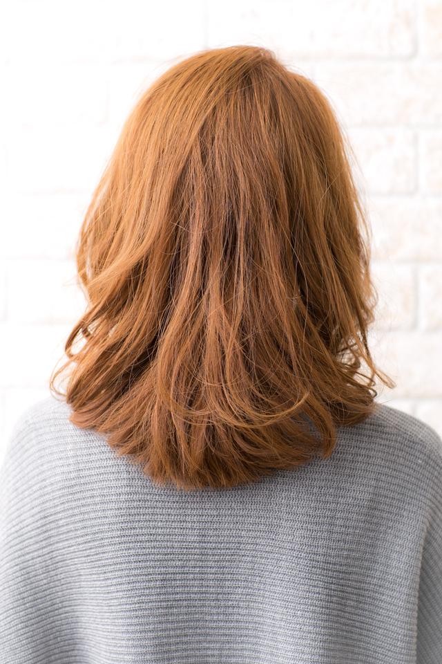 ツヤサラモードで大人かわいい前髪のラブクラシカルヘア204池袋:メイン画像